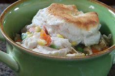 Mix and Match Mama: Dinner Tonight: Chicken Pot Pie