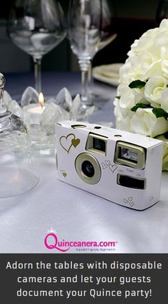 Let your guest personalize your Quinceañera with pictures! | Decorations | Pictures | Quinceanera Photography | Quinceanera Ideas
