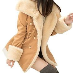 Outerwear,Kstare Winter Warm Double-Breasted Wool Blend Jacket Women Sweaters Coat *&* Material:Wool&Blends~~~Women's Long Faux Fur Coat Winter Warm Vintage Thick Fox Fur Jacket Outerwear Women's Elegant Short Faux Fur Coat Winter Warm Fur Jacket Overcoat Outerwear Women's Chic Short Faux Rabbit Fur Coat Outerwear Women's Winter Thick Outerwear Warm Long Fox Faux Fur Coat Women Vintage Winter Outwear Warm Fluffy Faux Fur Coat Jacket Luxury Womens Winter Warm Colorful Faux F