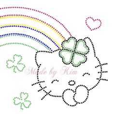 Hello Kitty String Art Templates, String Art Tutorials, String Art Patterns, Embroidery Cards, Embroidery Patterns, Hand Embroidery, Push Pin Art, Grandma Cards, Sequin Crafts