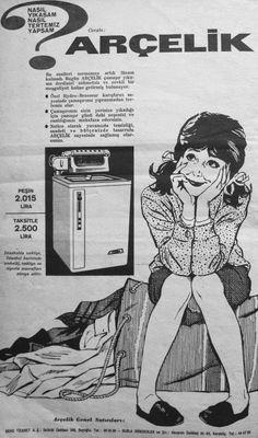 OĞUZ TOPOĞLU : nasıl yıkasam nasıl tertemiz yapsam arçelik merdan... Old Advertisements, Advertising, Vintage Ads, Vintage Prints, Visual Memory, Old Photographs, Old Ads, Print Ads, Good Old