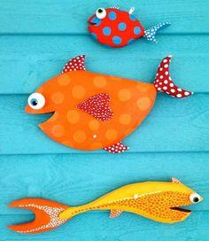 Декупаж&K – Photography, Landscape photography, Photography tips Fish Crafts, Beach Crafts, Wood Crafts, Diy And Crafts, Arts And Crafts, Arte Bar, Palm Frond Art, Driftwood Fish, Keramik Design