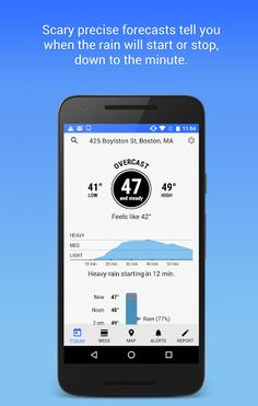 Dark Sky - Hyperlocal Weather v1.3.1 [Premium]   Dark Sky - Hyperlocal Weather v1.3.1 [Premium]Requirements:4.2Overview:Dark Sky is the most accurate source of hyperlocal weather information. With down-to-the-minute forecasts youll know exactly when the rain will start or stop right where you're standing. (It's like magic.)  Featured in: New York Times Wall Street Journal FastCompany Wired and more.  DARK SKY FREE The app is free todownloadand includes a full 24-hour forecast a detailed…