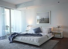 sleek Rick: really sleek minimalist bedroom