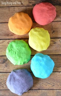 Easy Homemade Playdough Recipe - Super soft and delicious smelling this is the only recipe you will ever need