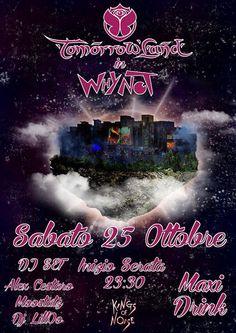 Tomorrowland in whynot :) serata sofferta. Ma riuscita  Moostatz 25/10/2014