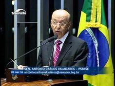 Antônio Carlos Valadares pede informações do governo sobre ações no comb...