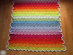 Crocheted rug Daughters Room, Crochet Projects, Rainbow, Blanket, Rugs, Rain Bow, Farmhouse Rugs, Rainbows, Blankets