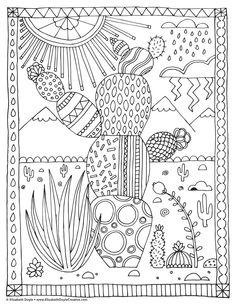 Free coloring page! — Elizabeth Doyle