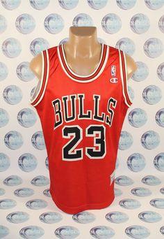 Details about NBA CHICAGO BULLS BASKETBALL SHIRT JERSEY CHAMPION RARE MICHAEL  JORDAN  23 0d8777462