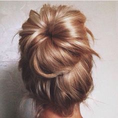 Donut hairstyle