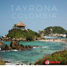 El Parque Nacional Natural Tayrona se encuentra ubicado en la Región Caribe en Colombia. www.4nexstop.com