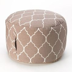 Kohls pouf - reasonably priced (when on sale and using a % off) - possibly cheaper than I could make!