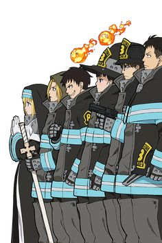 Manga Art, Manga Anime, Anime Art, Fanarts Anime, Anime Characters, Shinra Kusakabe, Super Anime, Wallpaper Iphone Cute, Anime Shows