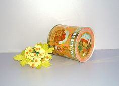 Vintage tin Nürnberger Lebkuchen 1960s by DelicateRetro on Etsy, $21.00