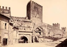 Porta Tiburtina, 1880 Rome, Italy