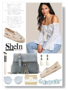 """""""SHEIN 1"""" by aidaaa1992 ❤ liked on Polyvore featuring Chantecaille, Matthew Williamson and Forever New"""