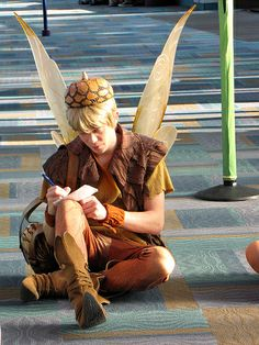 Ok, not officially a cosplayer since he's at Disneyland... But I've read the books, and he was my favorite character...next to Rani