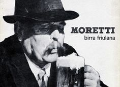 The moustached man who graces the Birra Moretti bottle.