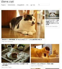 猫好きの為の猫ブログ『ilove.cat』 | A!@attrip