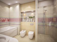 идея дизайна ванной, санузел, ремонт санузла, санузел в современном стиле