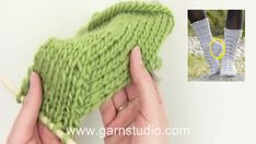 How to decrease for the heel on a sock (standard method) en Vimeo Knit Slippers Free Pattern, Knitted Slippers, Drops Design, Crochet Winter Hats, Types Of Heels, Pattern Library, Baby Sewing, Socks And Heels, Arm Warmers