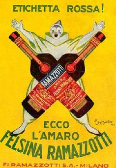 Cappiello Leonetto Manifesti Liberty Ramazzotti