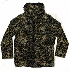 B-side Mens Cheetah Print Custom Parka £190