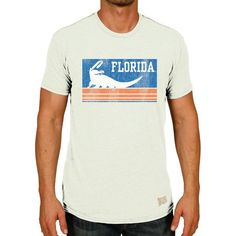 72921cd59 Florida Gators Original Retro Brand Vintage Gator Tri-Blend T-Shirt -  Natural