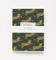 Safari  Pair of Pocket Notebooks
