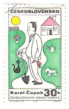 Literature on Stamps: Karel Capek
