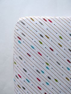 Baby Boy Arrow crib sheet toddler bed fitted by whitewillowkids