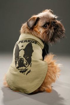 Your dog rules, literally, in this revolutionary vintage style tee.