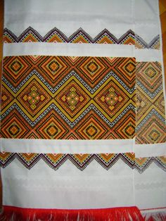 .Ukrainian embroidery