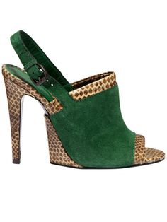 Absolutely Love these!...and I don't even really like green ;0) Bottega Veneta green shoe