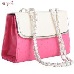 AGS Vintage Style Ladies' Two Tone Shoulder Bag [A017-3] - $33.00