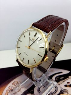 Omega Geneve 9ct Gold