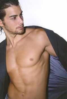 Haris Giakoumatos, Greek actor, model, water polo champion, b. 1982