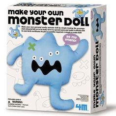 Arts and Crafts for kids today.  Make Your Own Monster Doll