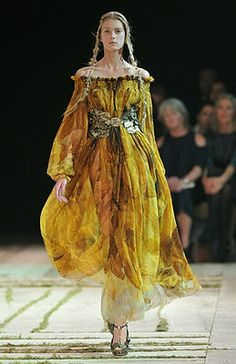 """Alexander McQueen - these are the dresses which will be """"pinterested"""" in centuries from now, just as we capture beauties from some hundred years AGO..."""