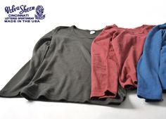 【楽天市場】Velva Sheen ベルバシーン 1×1 RIB L/S U-NECK TEE/ Uネックリブカットソー/Tシャツ・161289(全3色)(S・M・L)【2013秋冬】:Crouka LR(クローカ エルアール)