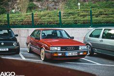 The legendary Audi 90 Quattro!