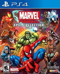 Get Marvel Pinball: Epic Collection Vol. 1 release date (Xbox One, cover art, overview and trailer. From the pinball wizards at Zen Studios comes Marvel Pinball: Epic Collection Vol. a thrilling collection that bundles together ten classic Marvel. Ms Marvel, Marvel Avengers, Marvel Comics, Spiderman Marvel, Marvel Heroes, Latest Video Games, Video Games Xbox, Xbox One Games, Ps4 Games