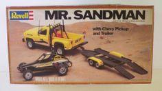 Revell MR Sandman Chevy Truck and Trailer box art