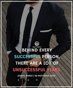 Behind Every Successful Person there are lot of unsuccessful years! # #hardworkpaysoff #businessman #passion #millionaire #love #networkmarketing #businessowner #motivational #desire #entreprenur,,,your success is not yours,,it is the success of your society & a man kind!!!repay it as a good one!!!