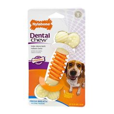 Dental Pro Action Chew - Bacon - http://www.nylabone.com/product-finder/by-product-type/pro-action-dental-chew.htm