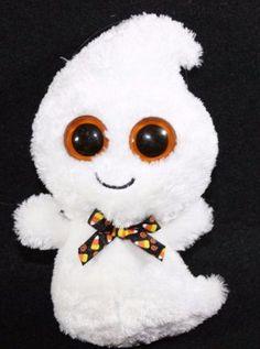 Ty-Beanie-Baby-Boo-039-s-Phantom-Birthday-October-31st-Plush-Stuffed-Animal
