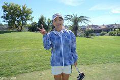 有村智恵プロ プライベートフォトシューティング in LA  試合中には見られないいろんなカット撮ってきました! www.vivaheart.com store.vivaheart.com