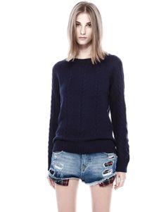 :JERSEY OCHOS Me encantan los jerseys de lana,y si tienen ochos aún más :P Este es de Pull and Bear