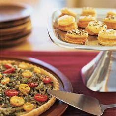 Three-Cheese Pastry Puffs | MyRecipes.com